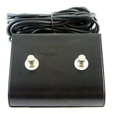 "Marshall style 2 Two Button Replacement Footswitch with TRS 1/4"" plug"