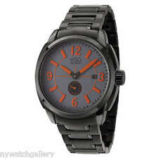 Esq Men's Excel 07301450 Black Stainless Steel Swiss Quartz Watch RETAIL $495