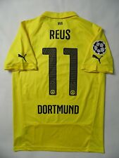 5/5 BORUSSIA DORTMUND #11 Marco Reus 2015 HOME ORIGINAL FOOTBALL JERSEY SHIRT