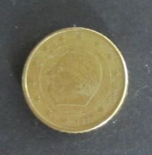 50 Cent Euro Münze Belgien Prägejahr 1999, aus Umlauf, Sammlerstück!