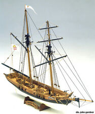 "Beautiful, Intricate Wooden Model Ship Kit by Mamoli: the ""Black Prince"""
