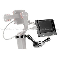 "Vituso 4.3 ""MONITOR HDMI per le fotocamere GoPro & 7"" MAGIC ARM KIT"