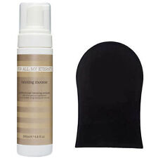 For All My Eternity Organic Self Tan Mousse SLS-Free Fake Tanning Foam+MITT