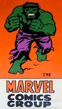 HULK Avengers pittura ad olio non REGALO 28X14 FUMETTI MARVEL Retrò Copertura in Tela