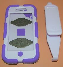 Griffin Survivor for iPhone 5/5s Military Rugged Case, w clip, Purple two tone