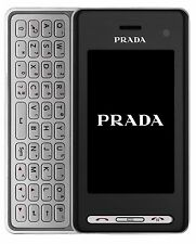 LG PRADA KF900 Black Unlocked QuadBand, Bluetooth,Camera,WiFi,FM GSM Cell Phone.