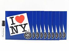 BOND NO 9 I LOVE NEW YORK FOR HIM 1.7ml .057fl oz x 10 SPRAY SAMPLE VIAL MINIS