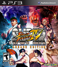 Super Street Fighter IV: Arcade Edition PS3 New Playstation 3