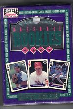 1993 Baseball Rookies U.S. Playing Card Co. Unopened deck of cards NRMT