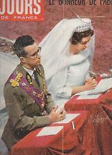 jours de france n° 319 fabiola sophia loren brigitte bardot 1960