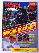 N°1542  MOTO JOURNAL; Dossier Occasion/ Honda CB 1300 SF/ GP 125 / Guzzy