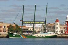 rp11594 - Greenpeace Ship - Rainbow Warrior , built 1957 - photo 6x4