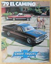 CHEVROLET El Camino 1979 Orig brochure - Conquista Super Sport Royal Knight
