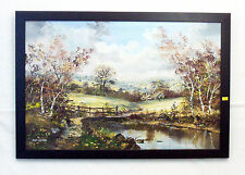 John Corcoran Recorded Artist Signed. Lovely-Large 75 X 50 Cm Oil on Canvas.