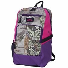 Realtree Max-1 Camo Team Realtree Backpack with Purple & Pink Trim