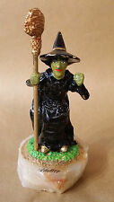 1998 Ron Lee, Wizzard Of OZ Wicked Witch, Numbered & Signed, 24k Gold Enhanced
