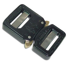 "AustriAlpin COBRA Buckle Aluminum Quick-Release Dual-Adjustable No-Sew 1"" 25mm"