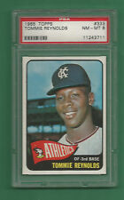 1965 Topps K.C. Athletics Tommie Reynolds # 333 PSA 8 NM-MT Low Pop !!!
