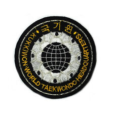 "TaeKwonDo KUKKIWON Patch Tae Kwon Do Korean Gym Uniform Dobok Bag 3.6"" YY"
