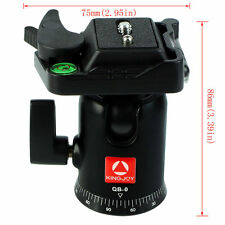 "New Tripod Ball Head with 1/4"" Threaded Quick Release Plate for DSLR Cameras Hot"