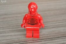 LEGO minifig Star Wars Minifigure R3p0 red droid 7879 Hoth echo base ♦ R-3PO