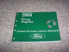 2004 Ford Crown Victoria Electrical Wiring Diagram Manual LX 4.6L V8 Natural Gas