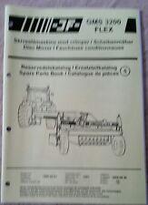 JF GMS3200 FLEX DISC MOWER PARTS CATALOGUE