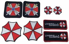 "Resident Evil Umbrella Corporation Costume [Set of 8] Patches sizes 3""-6"" GREAT!"