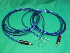 L/R AMP Receiver  REAN Neutrik Gold RCA to Powered Speakers wire Adapter, 6 ft.