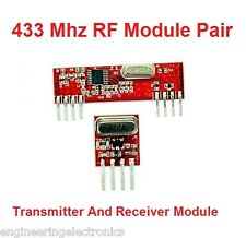 433 Mhz RF Module Tx Rx Pair, For Arduino, Raspberry Pi, PIC, 8051 etc...
