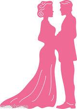 Cheery Lynn Designs Die ~ I Do ~ Bride & Groom ~ Wedding ~ B516 ~ New In