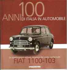 Booklet FIAT 1100 rare 30 PAGES