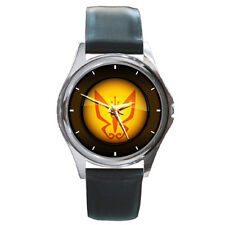 Black Leather Band Watch Venture Bros Monarch The Rare