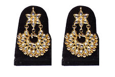Jewels Kafe Kundan Danglers Drop Fashion Earrings