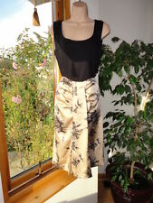 Rose Oak Print  Lined Skirt from Naughty, size 2UK M, RRP£80 ,New with tags