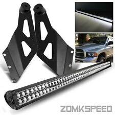 "02-08 Dodge Ram 1500/2500/3500 50"" 288W LED Light Bar + Roof Mounting Bracket"