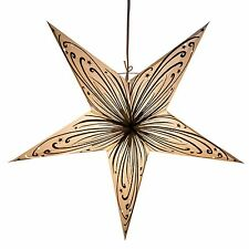 Swirl Power Paper Star Light Lamp Lantern with 12 Foot Cord Included