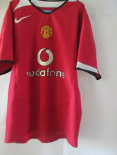 Manchester United 2004-2006 Home Football Shirt Size 140-152cm /1944