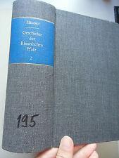 Geschichte der Rheinischen Pfalz politischen kirchlichen literarischen Verhältni