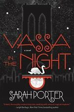 Signed Vassa in the Night by Sarah Porter Hardcover Book Owlcrate Autographed