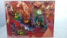"""Peinture moderne """" Les danseurs de Tango de l'Apocalypse"""". Modern painting"""