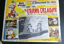 ORIGINAL DISNEY LOBBY CARD THE HUNTING INSTINCT. MEXICAN. EL ETERNO CAZADOR.