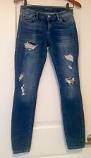 GUESS JEANS LOS ANGELES KATE SKINNY JEANS DISTRESSED SIZE 26