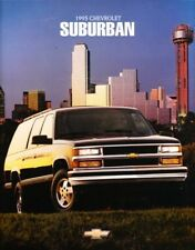 1995 95 Chevrolet Suburban original sales brochure MINT