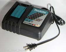Makita DC18RC Rapid Fast Lithium-Ion Battery Charger NEW No Retail Package BLUE*