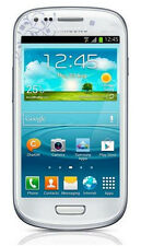 "Samsung Galaxy S3 Mini White 4"" Smartphone 8GB Memory SR/BB Unlocked"