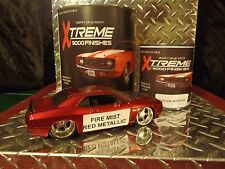 AUTO PAINT URETHANE FIREMIST RED MET SINGLE STAGE OR BASE KIT... FREE SHIPPING