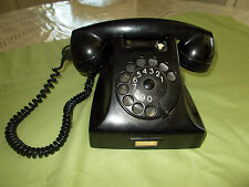 VINTAGE PTT ROTARY TELEPHONE MADE IN HOLLAND