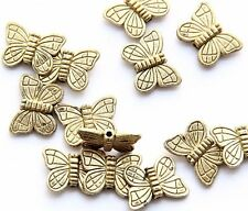 20Pcs Alloy Metal Butterfly Beads Finding--Jewelry Accessory