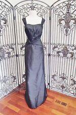 V112 MON CHERI 11052 SZ 10 BLACK $685 #12003  FORMAL GOWN DRESS
